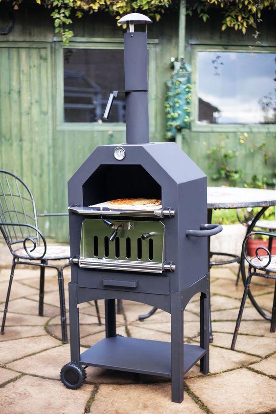 backen, grillen, räuchern - mit diesem pizzaofen könnt ihr all das, Garten und erstellen