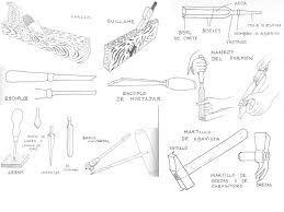 Resultado de imagen para herramientas para carpinteros+belenes