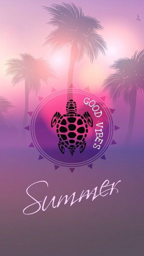 Summer Vibes Iphone Wallpaper