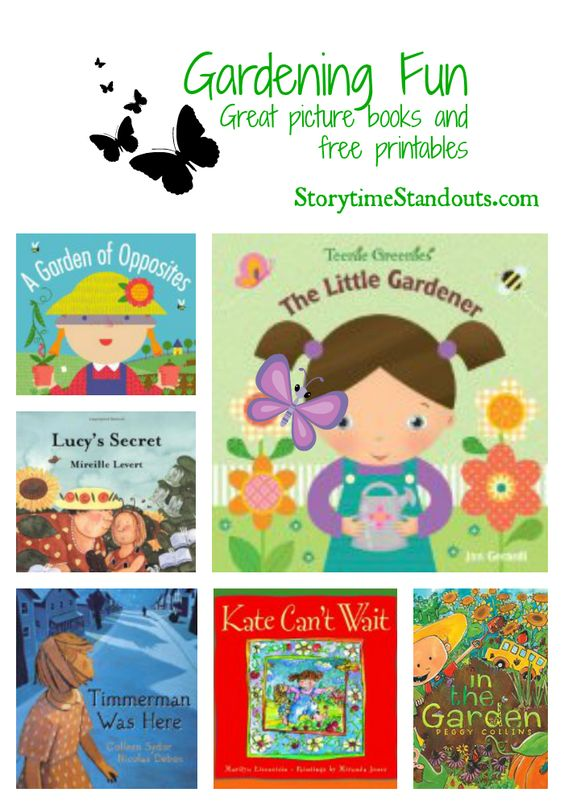 Picture Books Book Recommendations And Gardening On Pinterest