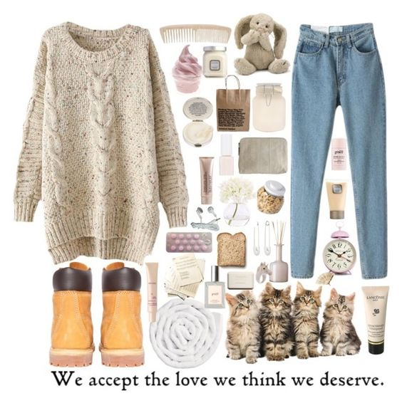 """~we deserve to be in love~"" by elle01-1 ❤ liked on Polyvore featuring beauty, Laura Mercier, Lancôme, Timberland, OXO, Kristin Cavallari, Urban Outfitters, Jellycat, INC International Concepts and Newgate"