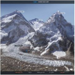 Virtually climb Mount Everest! This is awesome! Please repin!