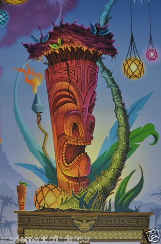 Doug Horne - Tiki at the Tropics - Mid Century Modern meets Tiki Sci-Fi