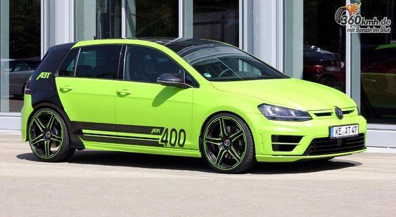 Der Volkswagen Golf R400 von ABT Sportsline - ein paar Bilde vor der offiziellen präsentation