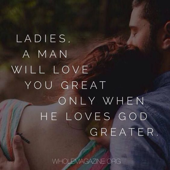 Start your Relationship this way... Not just a Christian Guy....... A GODLY MAN!!!!!: