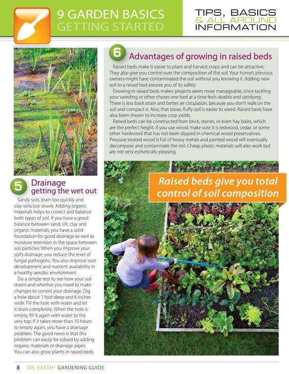 #ClippedOnIssuu from 2014 Dr. Earth Gardening Guide