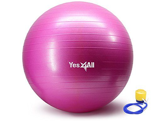 anti burst stability ball with foot pump 75 cm pink ayrqz http activelifeessentials. Black Bedroom Furniture Sets. Home Design Ideas
