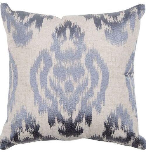 Cushion cover size 45cmx 45cm swart charcoal design polyester bobin boutique Z