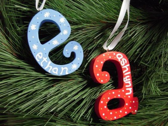 easy ornament craft idea!