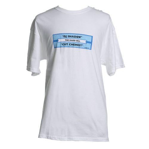 The Giant Peach - DJ Shadow - Hard Sell Juke Box Label Men's Shirt, White, $25.00 (http://www.thegiantpeach.com/dj-shadow-hard-sell-juke-box-label-mens-shirt-white/)