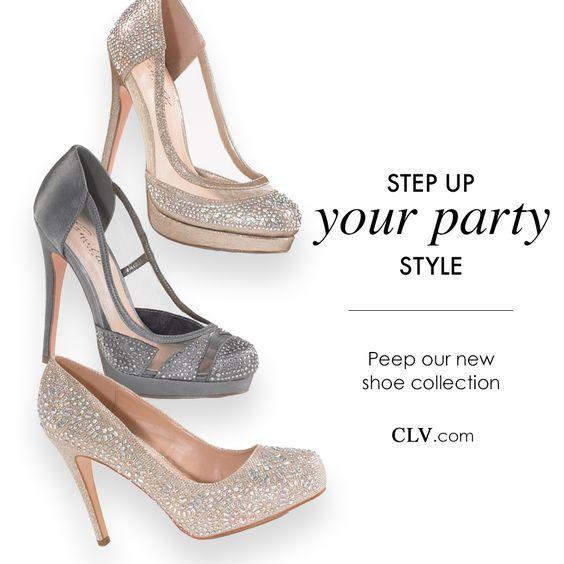 Camille La Vie sparkle platform pumps shoes