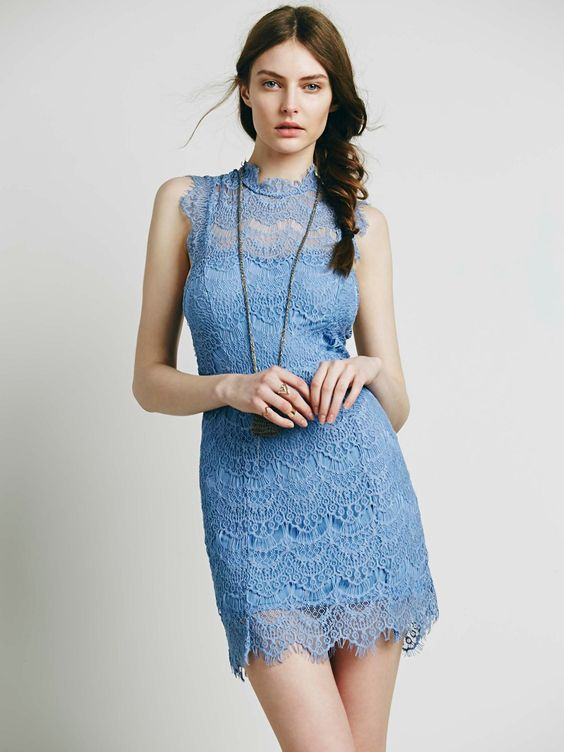 Day Dream High Neck Cocktail Dress