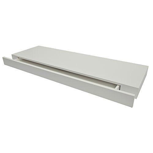 Duraline Modernes Sideboard | Regalbrett mit Schublade | 80 x 25 x 5 cm | Weiß MömaX http://www.amazon.de/dp/B004GYWQGC/ref=cm_sw_r_pi_dp_wiOfxb0Y3GE65