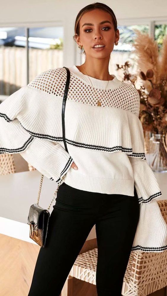 26 Women Sweater That Look Fantastic outfit fashion casualoutfit fashiontrends