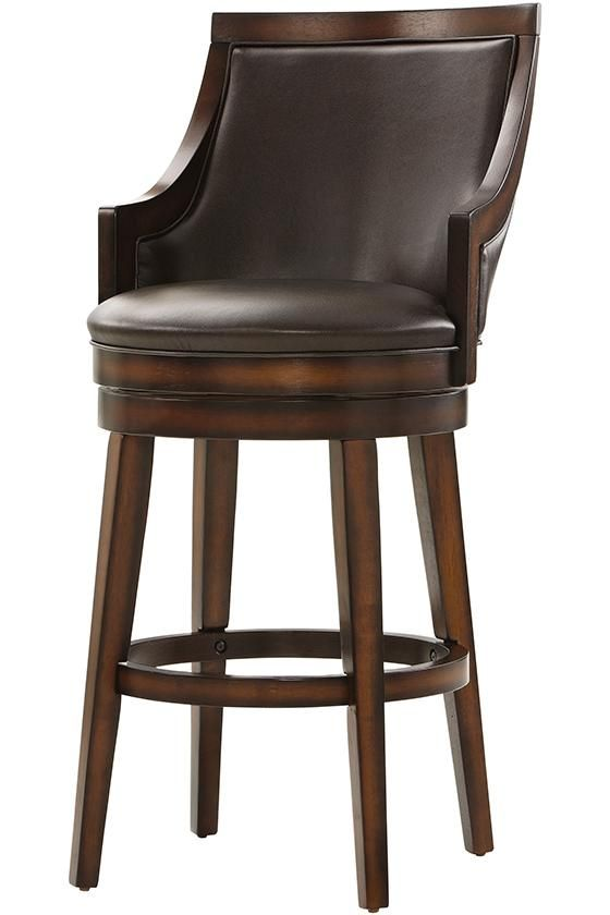 Nelson Swivel Bar Stool Good Style W Different Leather