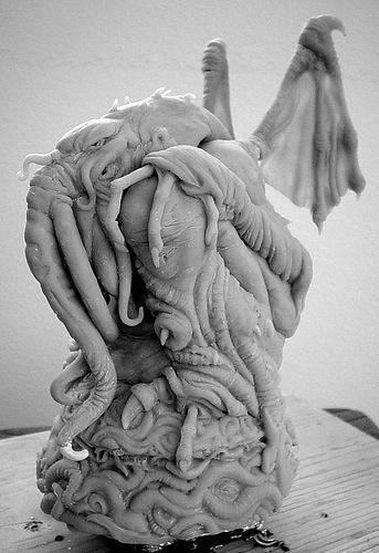Cthulhu. Artist unknown.