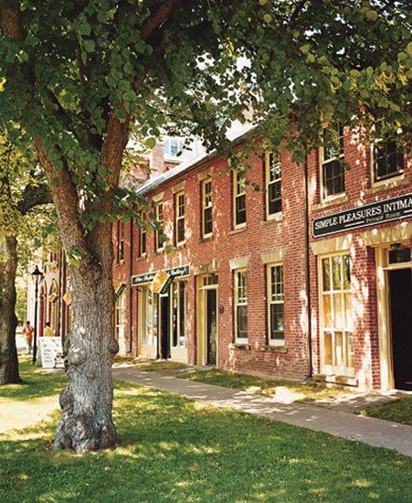 P.E.I.'s capital, Charlottetown, (ie., Anne of Green Gables fame).  This fall, can't wait!
