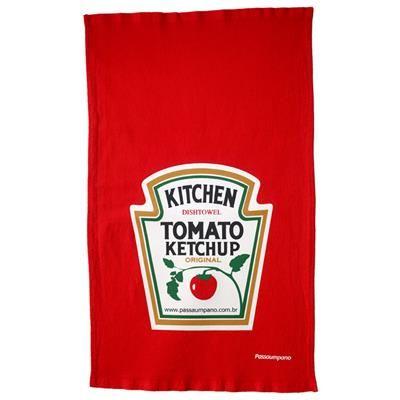 Pano de Prato Ketchup