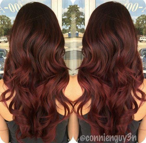17 Best Dark Red Hair Color Ideas Hair Color Auburn Balayage
