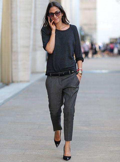 Rien de tel que quelques bracelets ethno-minimalistes pour dérider un total look gris !