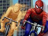 Spidey is on chase with sandman lets see who wins...Help spidey wins this race and unlock new levels...