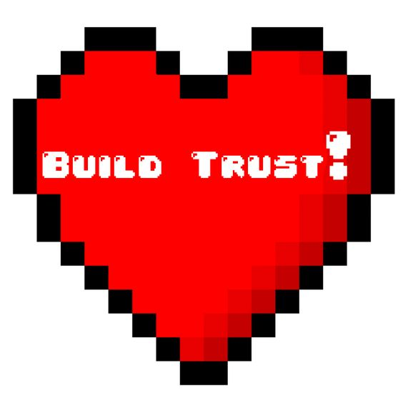 build trust with niche audience