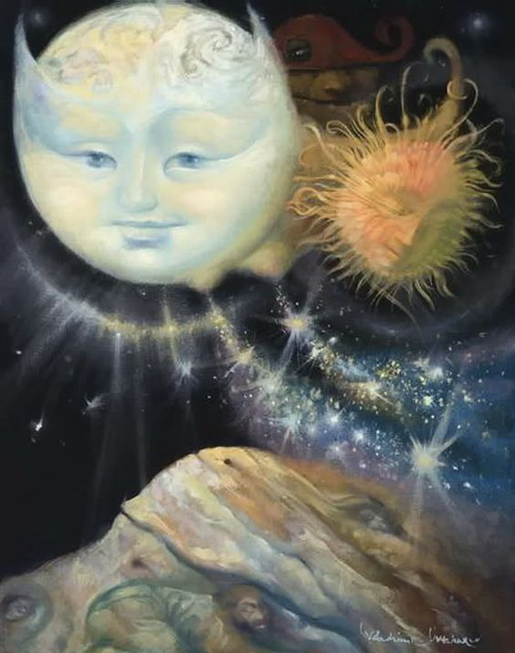 Vladimer Ovtcharov~ Sun  Moon~