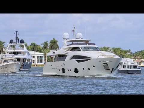 Fort Lauderdale Mega Yachts And Boats The Day After The Boat Show Flibs2019 1 Compilation 4k Youtube In 2020 Boat Yacht Super Yachts