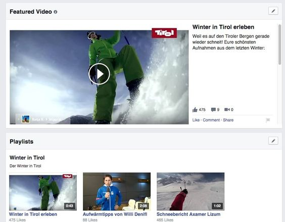 Schritt für Schritt: Featured Video & Playlisten erstellenSchritt für Schritt: Featured Video & Playlisten erstellen