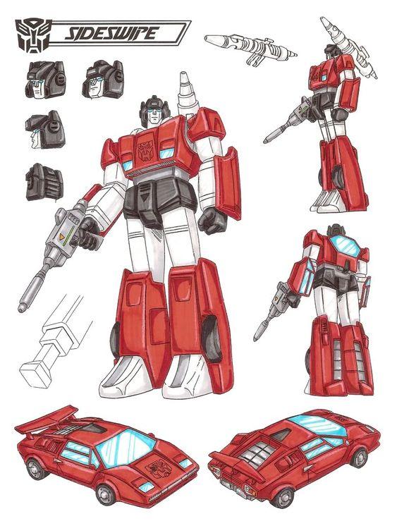 Transformers Generation 1 Cartoon Characters : Medium and photos on pinterest