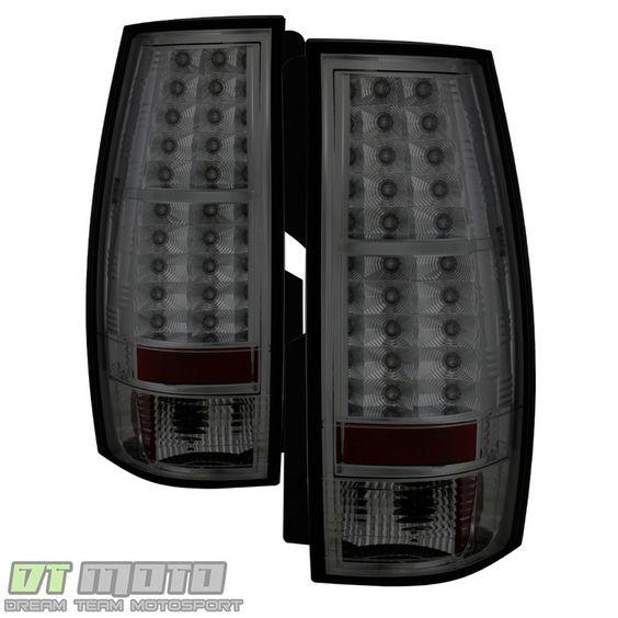 ( Spyder ) Chevy Suburban/Tahoe 07-14 / GMC Yukon/Yukon Denali 07-14 - LED Tail Lights - Smoke