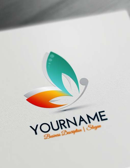 Free Erfly Logo Maker Make Yourself Abstract