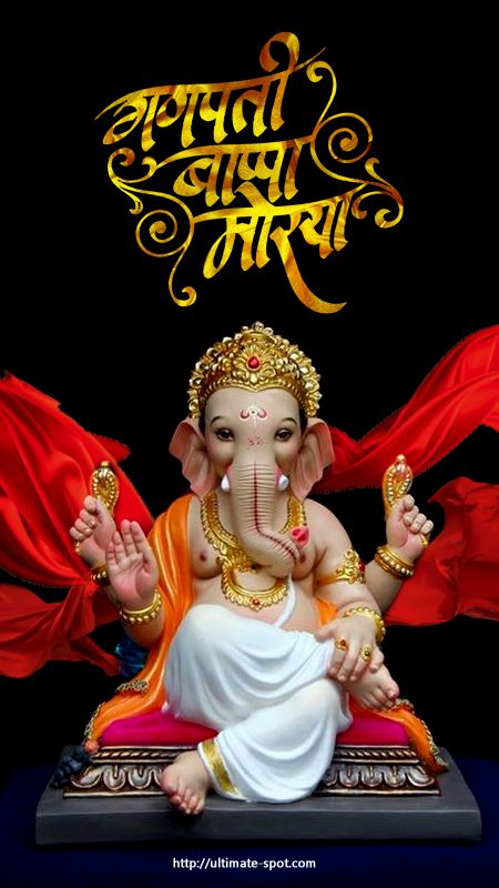 Ganesh Ji IMages with hindi messages 2019