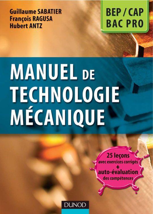 Telecharger Manuel De Technologie Mecanique Pdf Gratuitement Genie Mecanique Cours De Technologie Mecanique