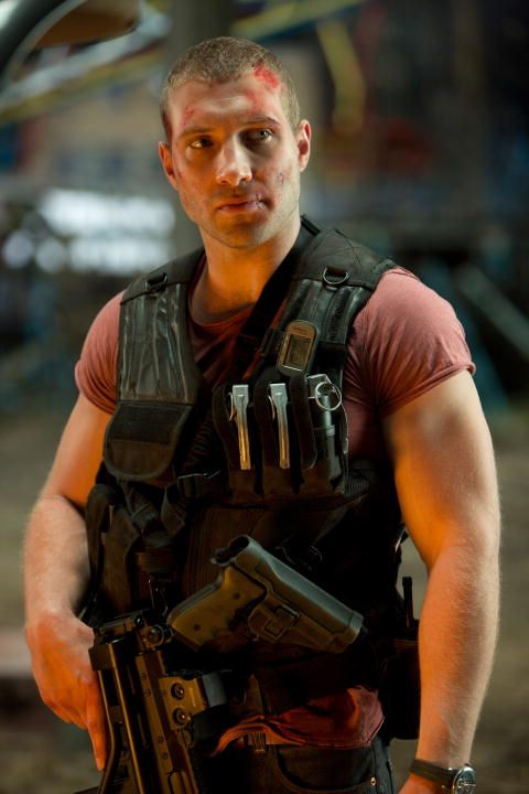 Jai Courtney~Played Varro in Spartacus: Blood & Sand. Co-starred in the Die Hard sequel, playing Bruce Willis' son, John McClane, Jr.