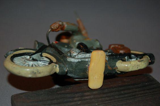 Lineol dänischer Kradschütze Vorkrieg Militär Wehrmacht WK2 WW2 Dänemark Krad…