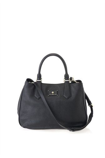 """A new addition to the Marc by Marc Jacobs collection, the Les Zeppelin Large Satchel is a perfect daytime bag for a girl that's on the go. The Large Satchel features two top handles and a cross-body strap for versatile carrying options. 100% Cow Leather. 16.25"""" x 5.75"""" x 12.5"""""""