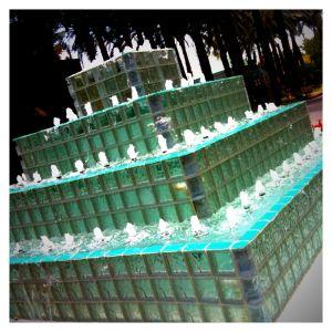 Cool Glass Block Fountain
