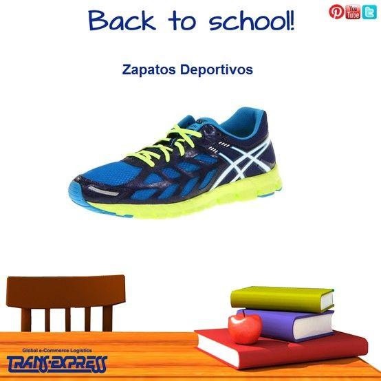 Los zapatos perfectos para tu día de entrenamiento en la escuela. TransExpress compras en internet en El Salvador. Costo aprox $116.35 http://amzn.com/B007ZD8796