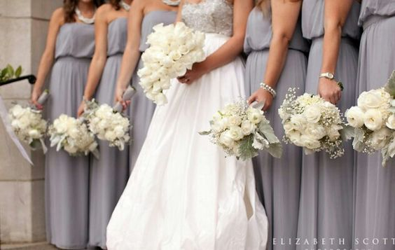 Color:  Details... Bridesmaids Bouquets
