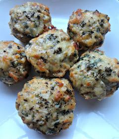 Attack of the Hungry Monster: WIAW: Italian Chicken Meatloaf Minis