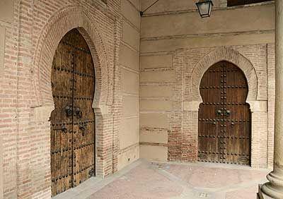 Puertas del Al andalus en La Alcarria.Spain