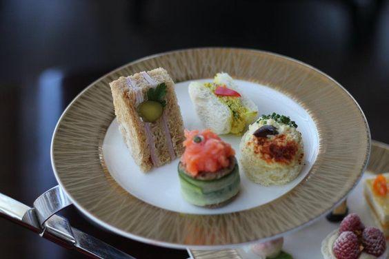 ... Curried chicken salad sandwich - Black Forest ham sandwich | Pinterest