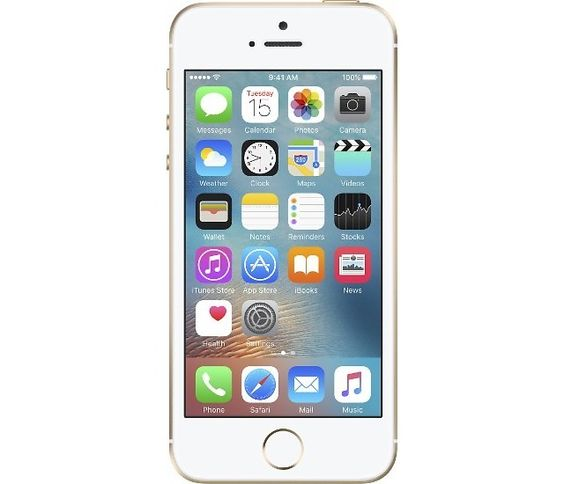 Apple Certified Refurbished iPhone SE 16GB Memory Gold (Sprint) $269.99 (bestbuy.com)