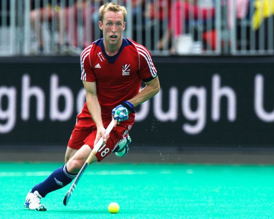 Barry Middleton, Captain of Great Britain, played his 350th international match during FINTRO Hockey World League Semi-Final 2015 in Antwerp (Credit: Frank Uijlenbroek)