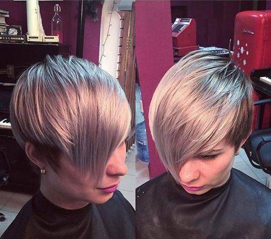 Haarfabeideen.com zeigt Ihnen zuletzt und trend-Haarfarbe Stil und Haar Ideen wie Ein längerer Pixiecut! Wir haben 11 verschiedene tolle Haarschni… inspirieren und machen