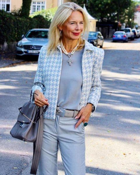 Невероятно элегантные образы для женщин 45+ | Новости моды #autumnfashionwomenover60