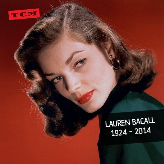 Adiós a una leyenda de Hollywood. Hasta siempre Lauren. pic.twitter.com/Pm2QEQz0KJ