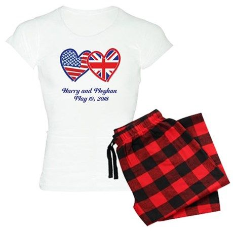 Harry and Meghan Pajamas