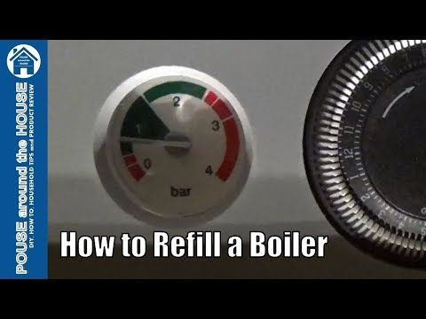 How To Repressurise Refill A Combi Boiler E119 Error Low Pressure Baxi Potterton Youtube Boiler Low Pressure Central Heating System